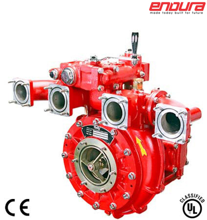 Multi Pressure Vehicle Mounting Fire Pumps