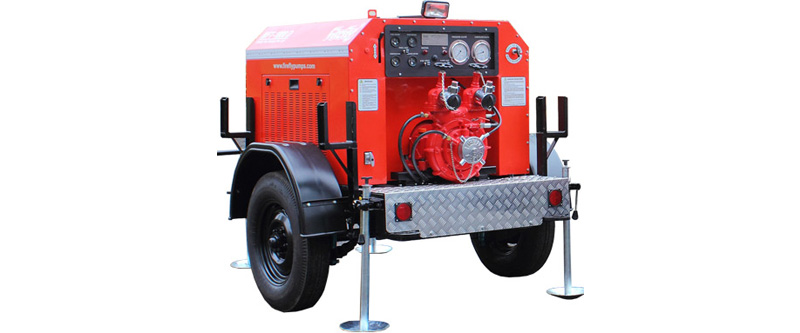 Trailer Mounted Fire Pumps
